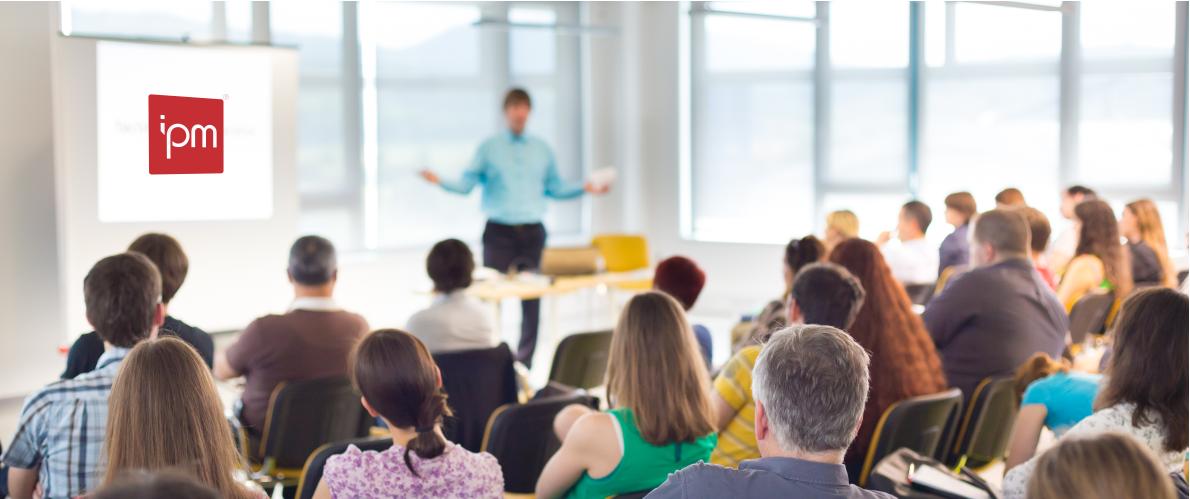Confira o cronograma dos treinamentos oferecidos aos clientes IPM