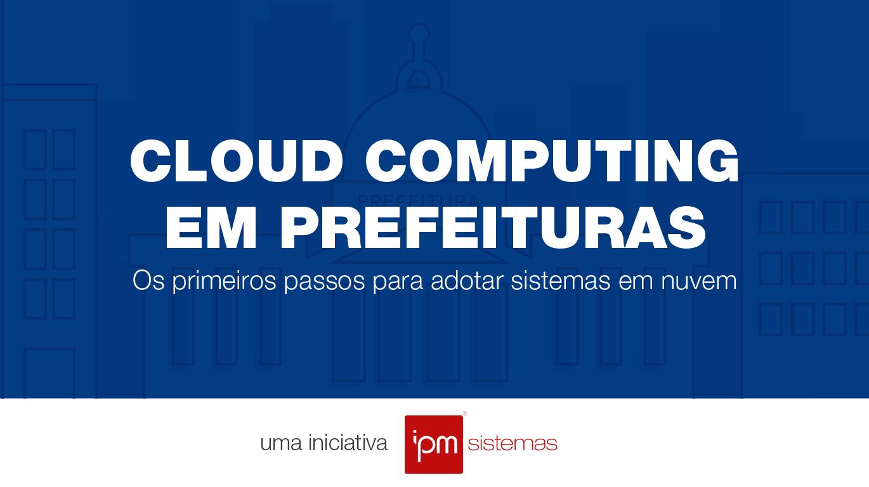 cloud computing em prefeituras