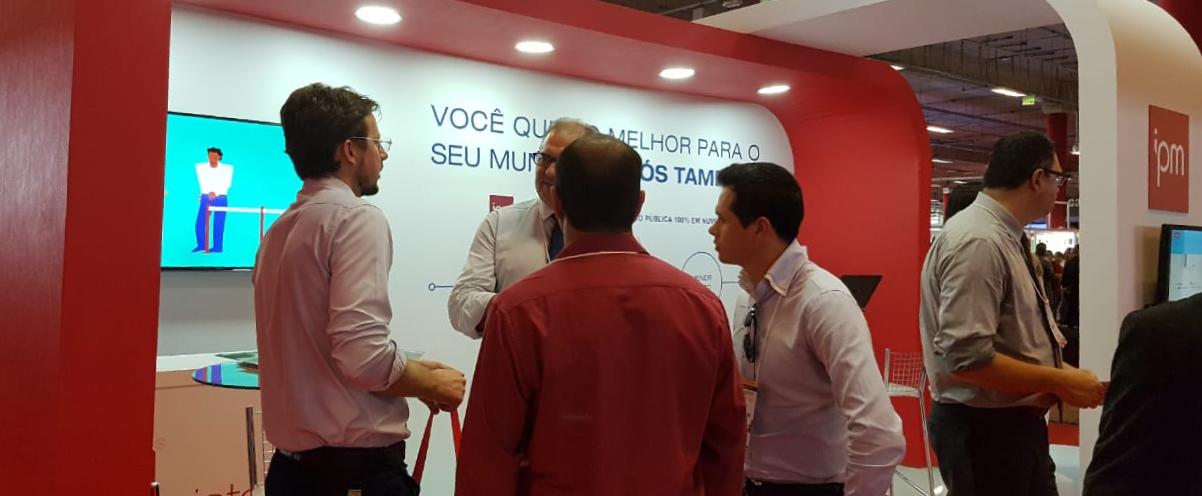 IPM apresenta sistemas em nuvem para gestores municipais no Congresso Mineiro de Municípios