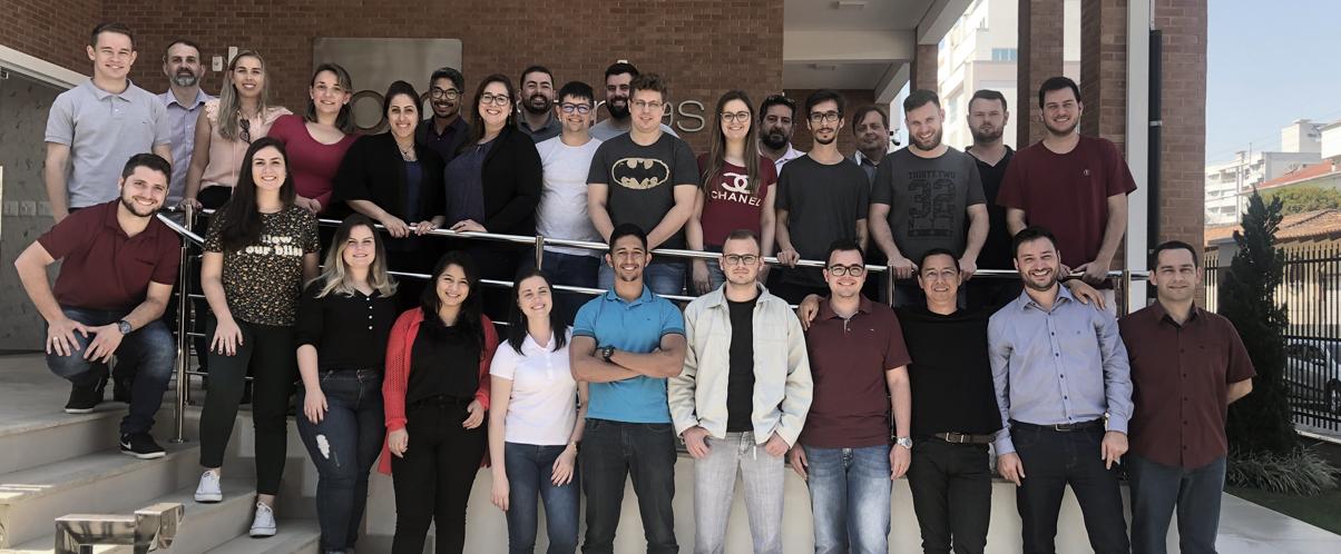 Novos colaboradores passam por treinamento no Centro de Tecnologia em Rio do Sul