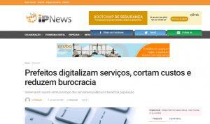 matéria do portal IPNews - IPM Sistemas