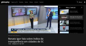 Transparência na Gestão Municipal: Rio do Sul fica em 1° lugar em SC