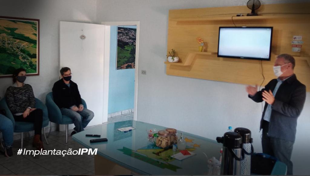 Treinamento IPM Sistemas na Prefeitura de Zortéa