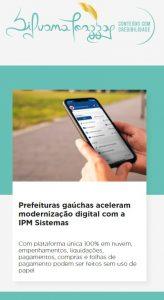 Silvana Toazza: Prefeituras gaúchas aceleram modernização digital com a IPM Sistemas
